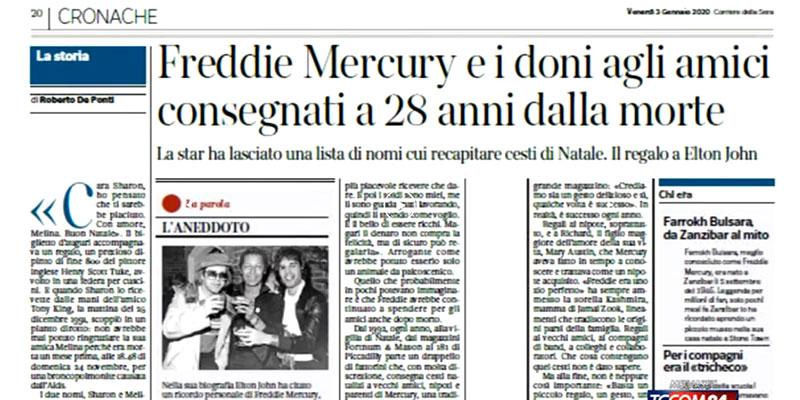 i doni di freddy mercury